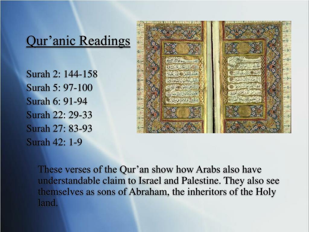 Qur'anic Readings