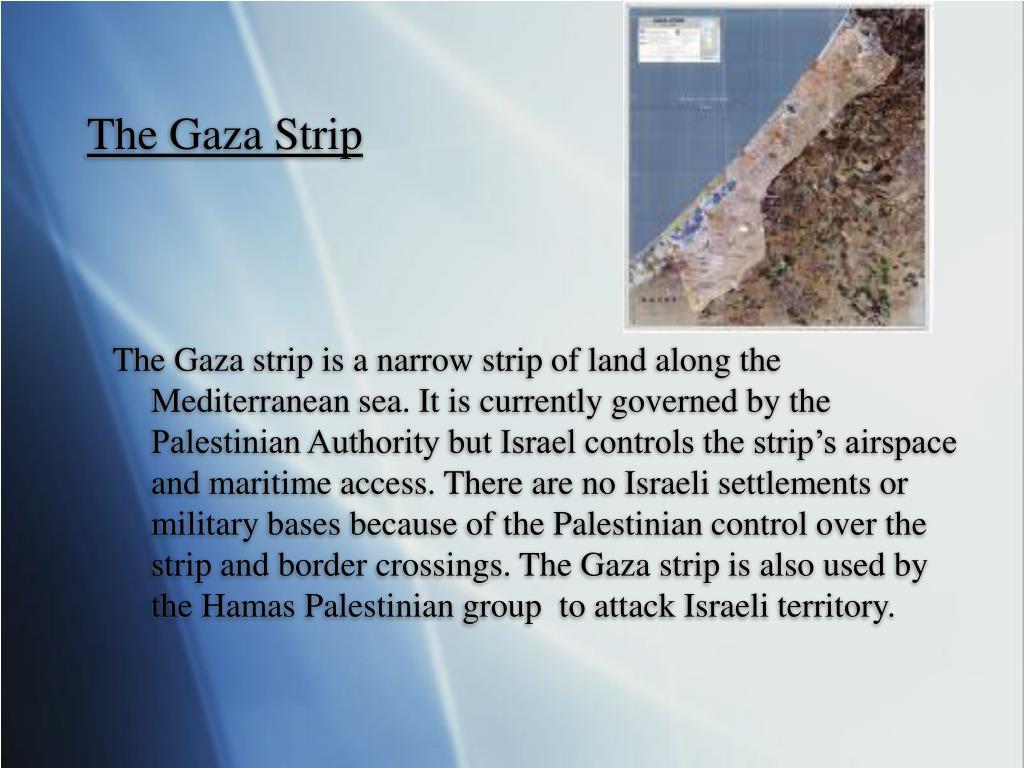 The Gaza Strip