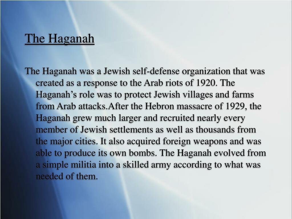 The Haganah