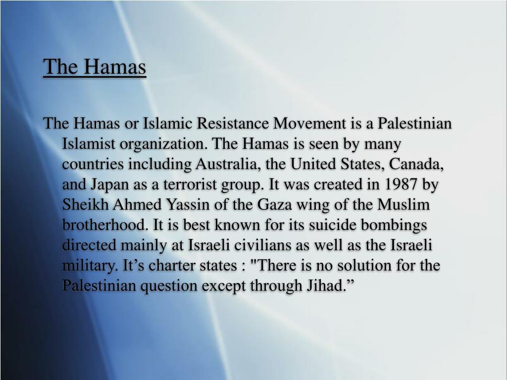 The Hamas