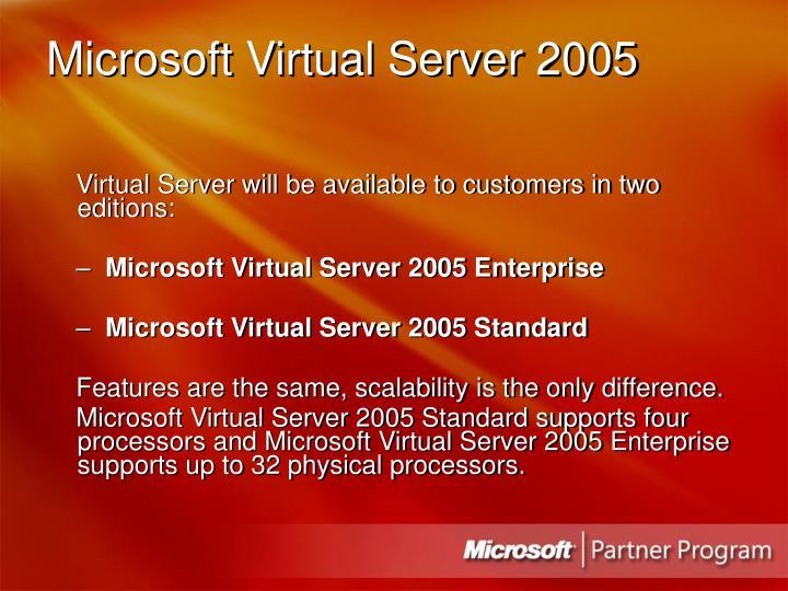 Microsoft Virtual Server 2005
