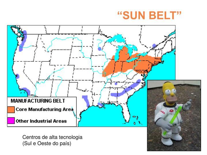 """""""SUN BELT"""""""