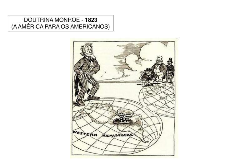 DOUTRINA MONROE -