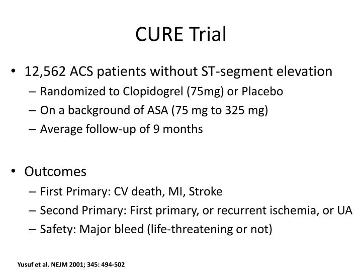 CURE Trial
