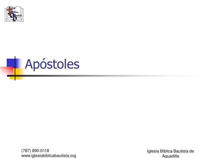 Apóstoles