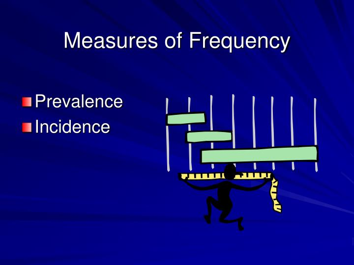 Measures of Frequency