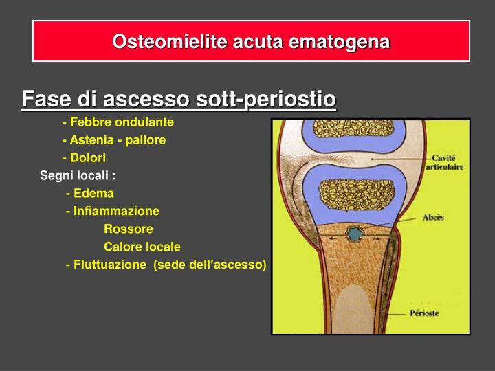 Osteomielite acuta ematogena