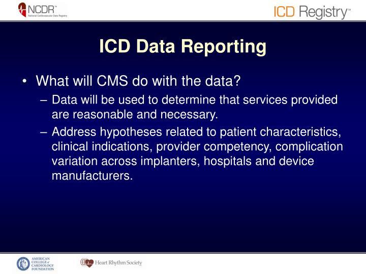 ICD Data Reporting