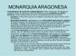 monarquia aragonesa