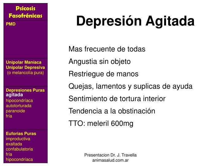 Depresión Agitada