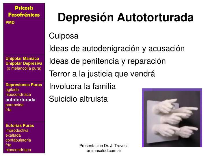 Depresión Autotorturada