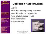 depresi n autotorturada