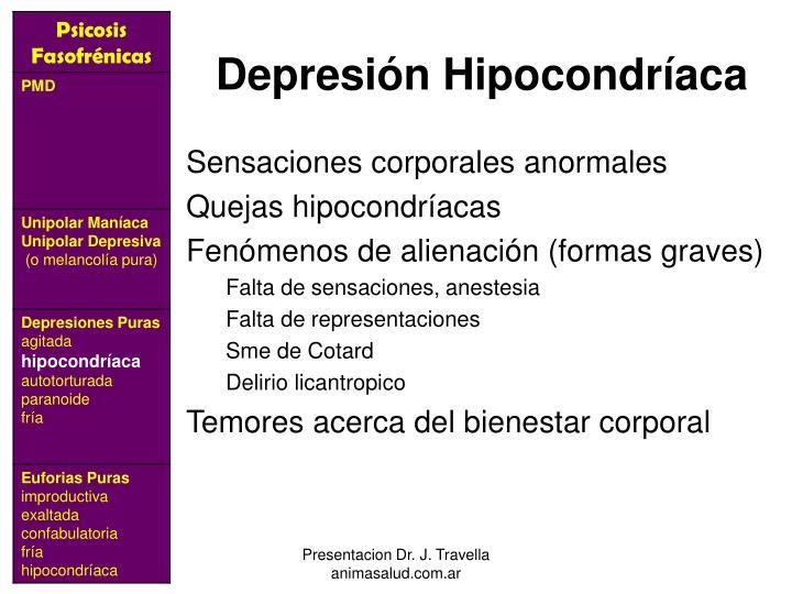 Depresión Hipocondríaca