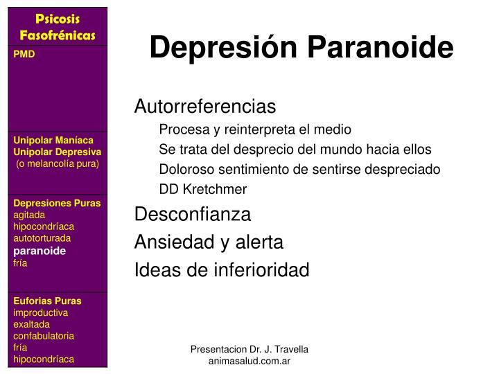 Depresión Paranoide
