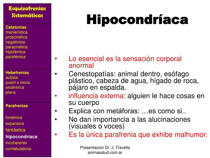 Hipocondríaca
