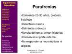 parafrenias