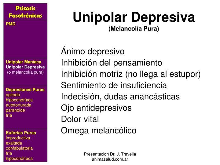 Unipolar Depresiva