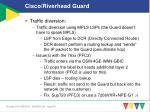 cisco riverhead guard1