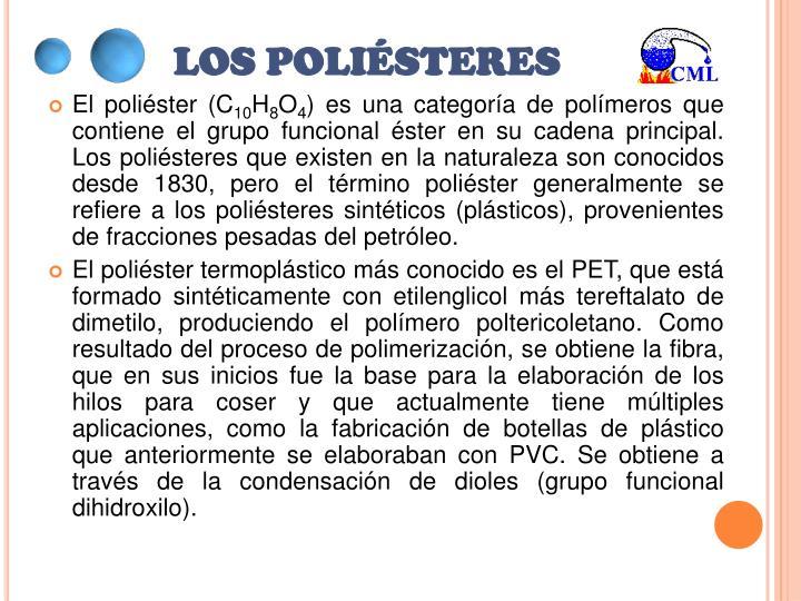 LOS POLIÉSTERES