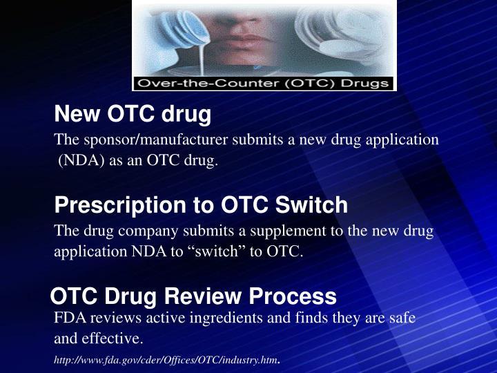 New OTC drug