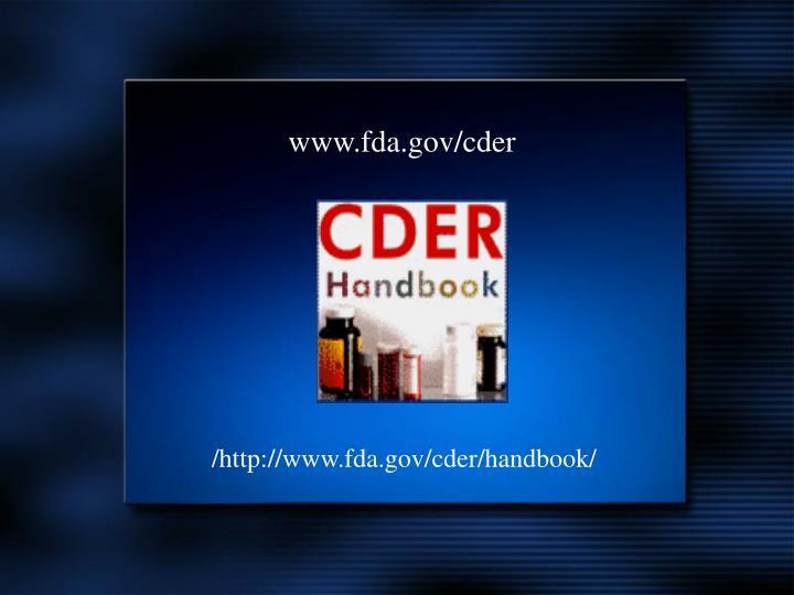 www.fda.gov/cder