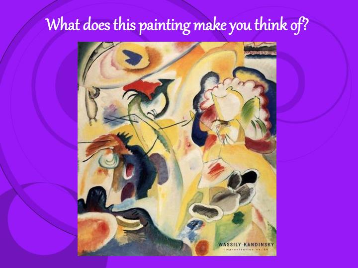 What does this painting make you think of?
