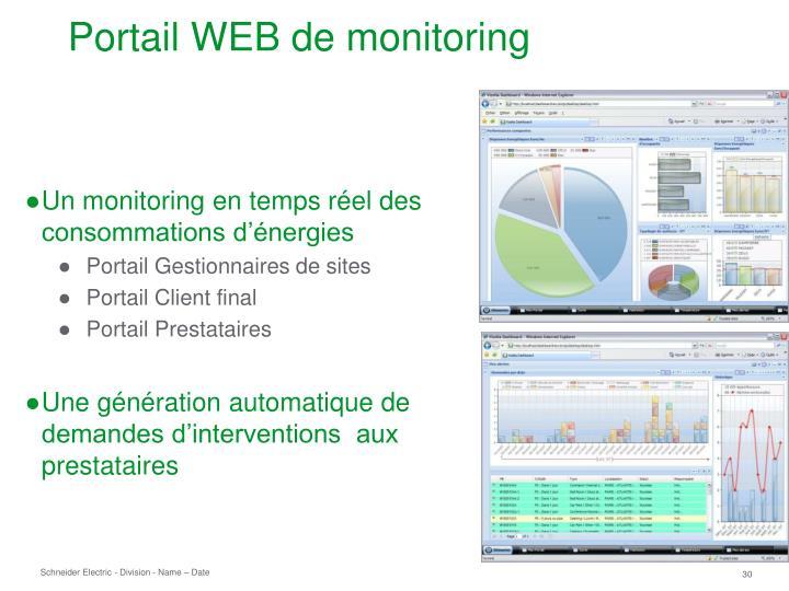 Un monitoring en temps réel des consommations d'énergies