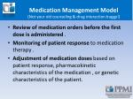 medication management model not your old counseling drug interaction buggy