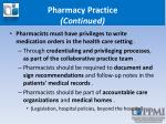 pharmacy practice continued2