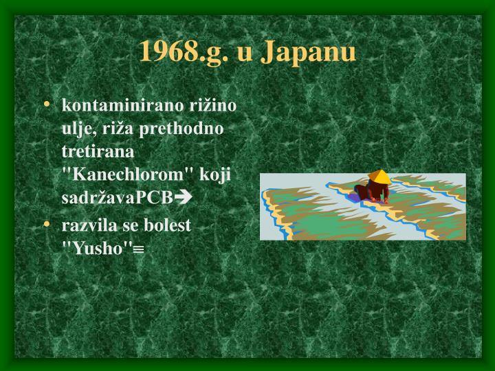 1968.g. u Japanu