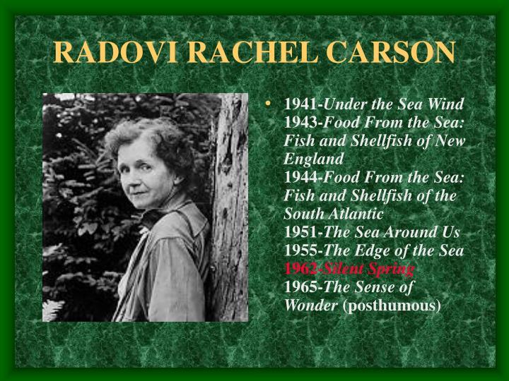 RADOVI RACHEL CARSON