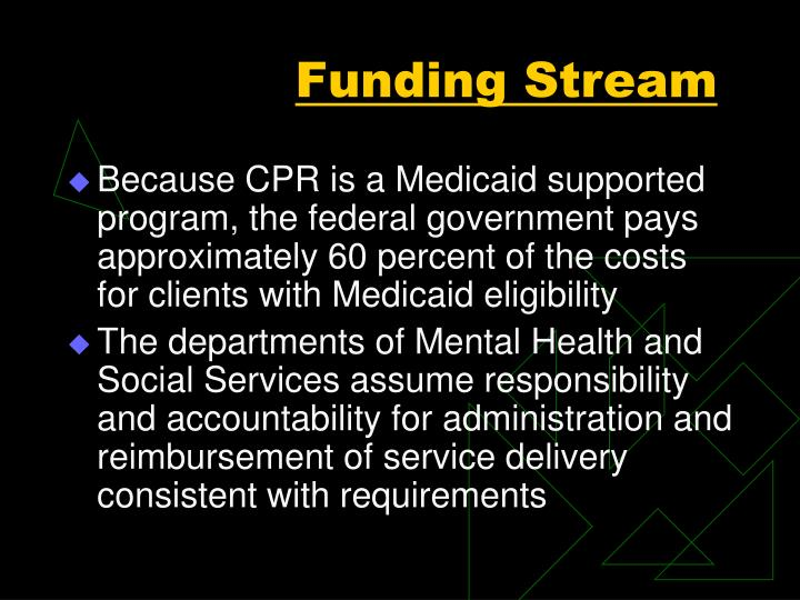 Funding Stream