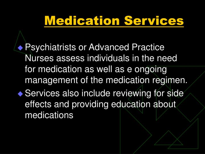 Medication Services