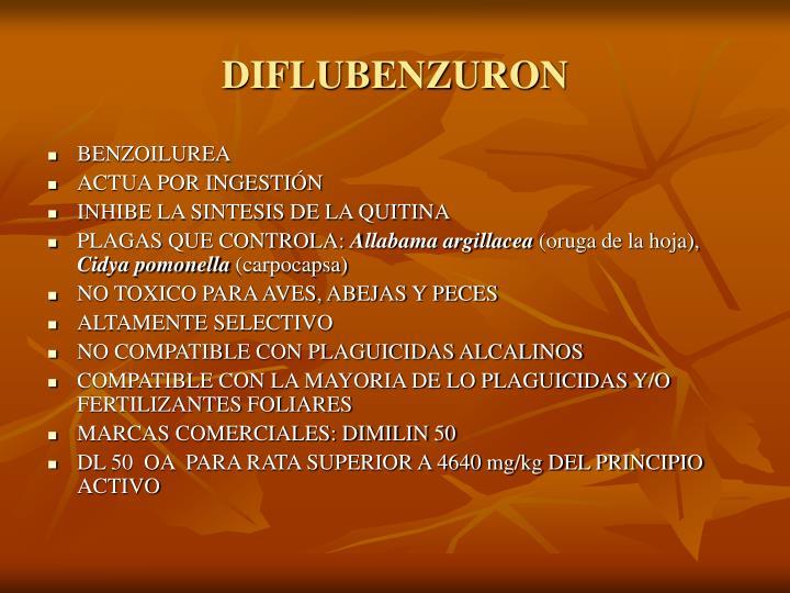DIFLUBENZURON