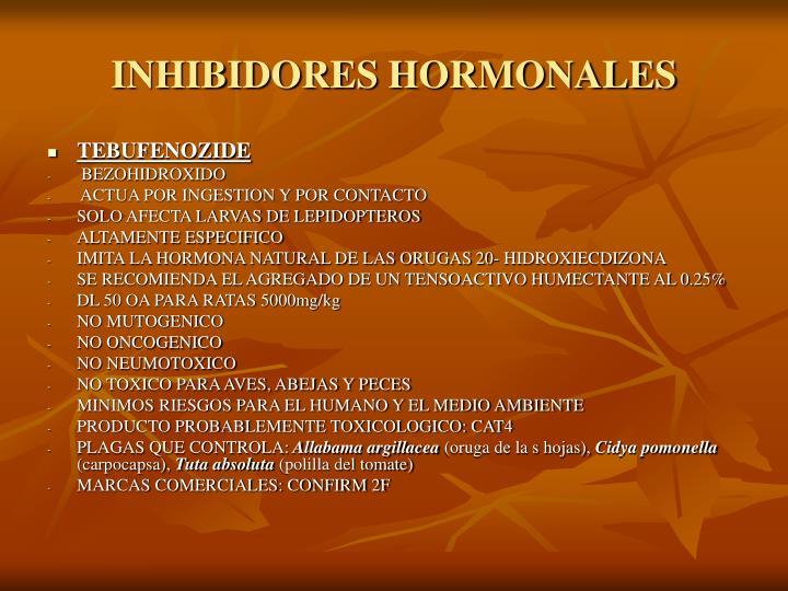 INHIBIDORES HORMONALES