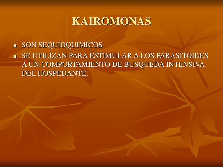 KAIROMONAS