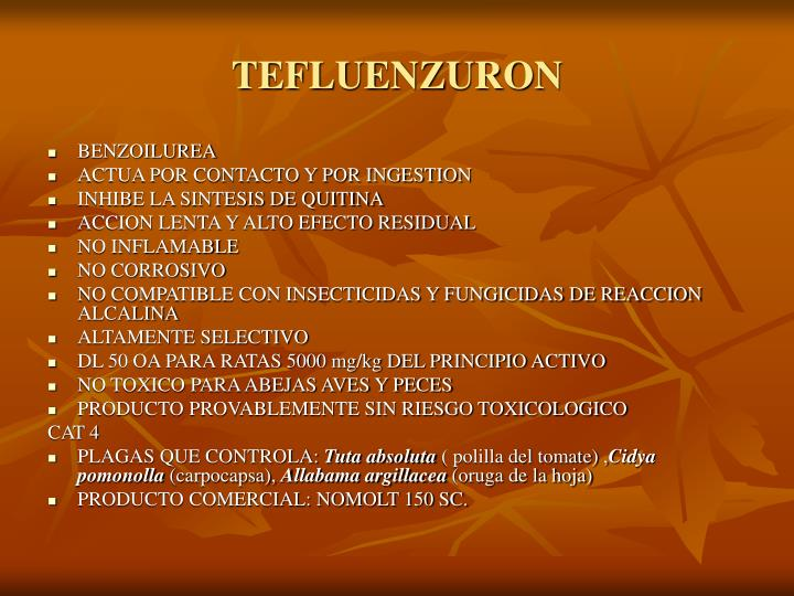 TEFLUENZURON