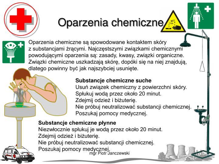 Oparzenia chemiczne