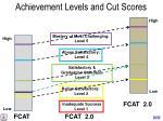 achievement levels and cut scores1