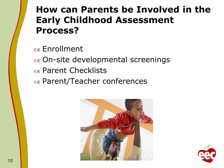 How can Parents be Involved in the Early Childhood Assessment Process?