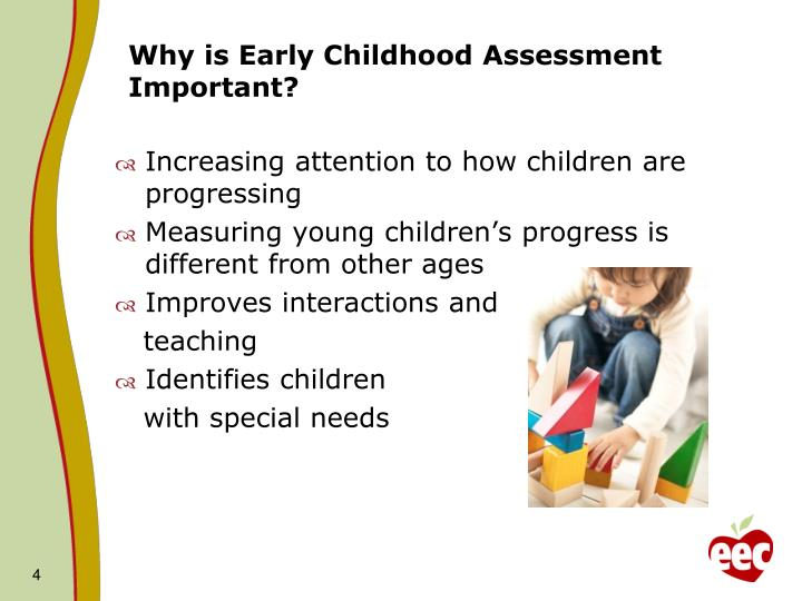 Why is Early Childhood Assessment Important?