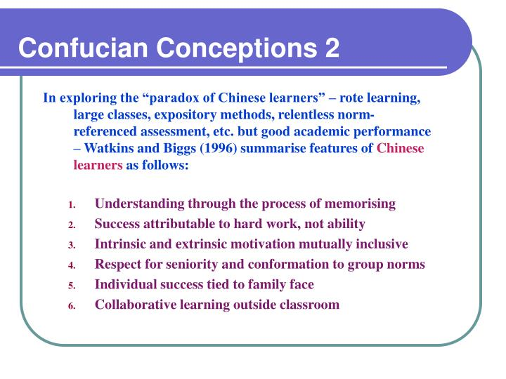 Confucian Conceptions 2