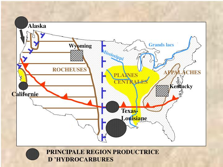 PRINCIPALE REGION PRODUCTRICE