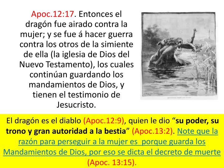 Apoc.12:17