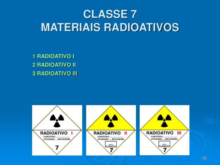 CLASSE 7
