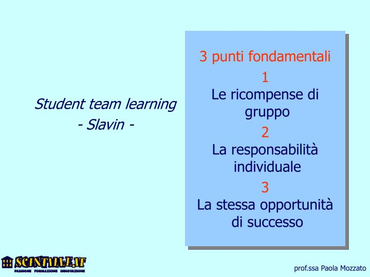 Student team learning