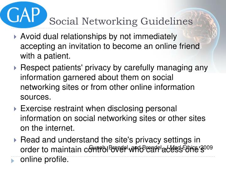 Social Networking Guidelines
