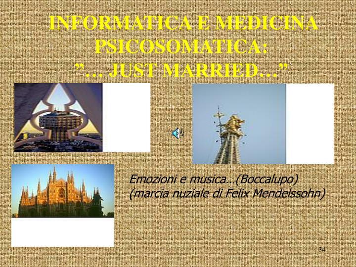 INFORMATICA E MEDICINA PSICOSOMATICA: