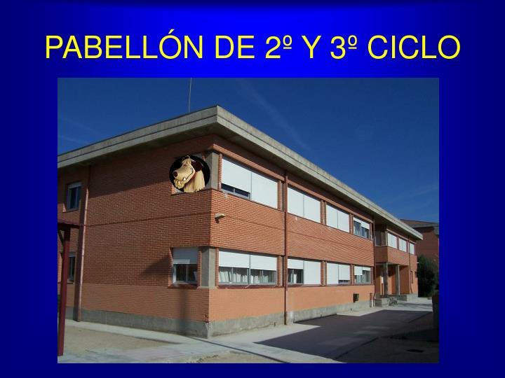 PABELLÓN DE 2º Y 3º CICLO