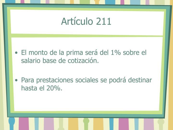 Artículo 211